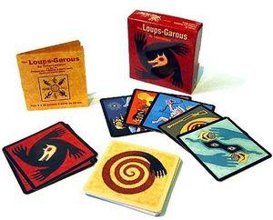 Cartes et boîte du jeu Loups-Garous