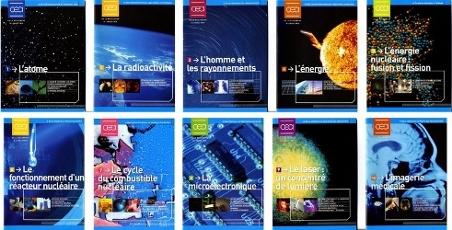 Dix premiers numéros des livrets pédagogiques du CEA