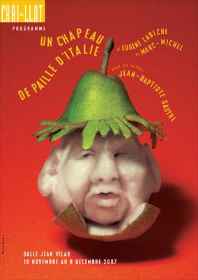Affiche de la pièce Un chapeau de paille d'Italie