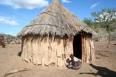 Hutte Himba