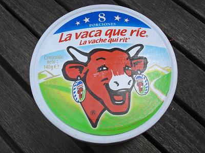 Couvercle de la boite Vache qui rit
