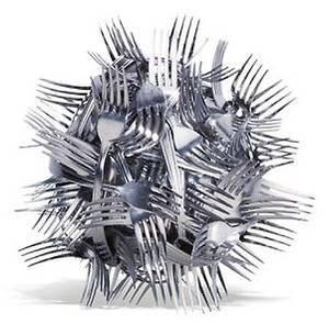 Pelote de fourchettes