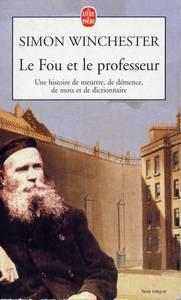 Livre Le fou et le professeur