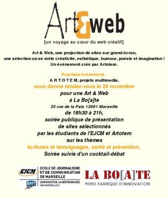 Programme de l'événement du 25 novembre 2008