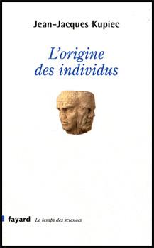Livre L'origine des individus