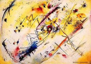Tableau abstrait de Kandinsky