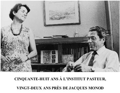 Madeleine Brunerie et Jacques Monod