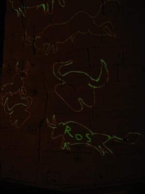 Têtes et silhouettes de bœuf