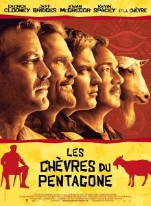 Affiche du film Les chèvres du Pentagone
