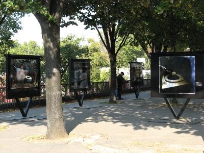 Autre vue d'ensemble des photos de l'exposition Chiottissime