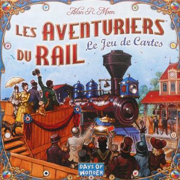 Boite du jeu Les aventuriers du rail