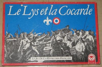 Plateau du jeu Le Lys et la Cocarde