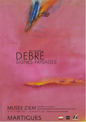 Affiche de l'exposition Signes-Paysages