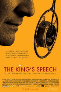 Affiche du film Le discours d'un roi
