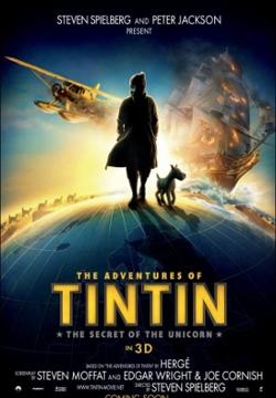 Affiche du film Tintin, les secrets de la Licorne