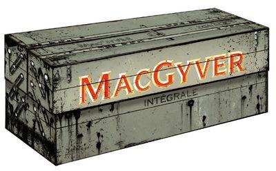 Boite regroupant les 7 saisons de MacGyver