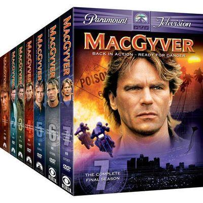Les 7 saisons de la série MacGyver