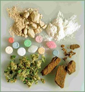 Ecstasy, cannabis, héroïne...