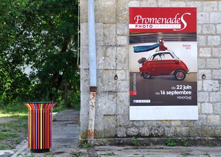 Affiche de l'exposition Promenades Photographiques