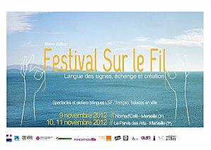 Affiche du festival Sur le fil