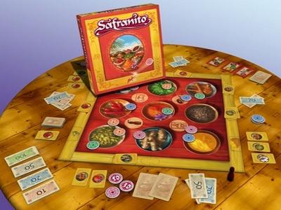 Éléments du jeu Safranito