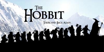 Gandalf, Bilbo et les treize nains à la queue leu leu