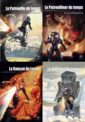 Les 4 tomes de la série La Patrouille du temps