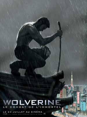 Affiche du film Wolverine le combat de l'immortel