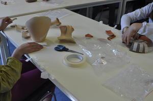 Reconstitution de vases