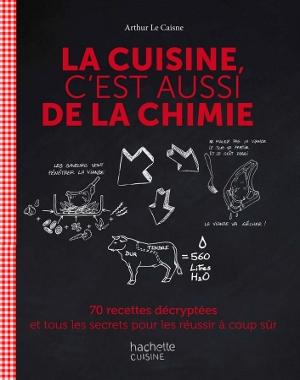Livre La cuisine, c'est aussi de la chimie