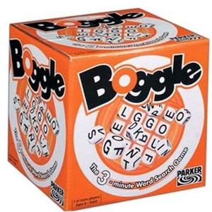 Boîte du jeu Boggle