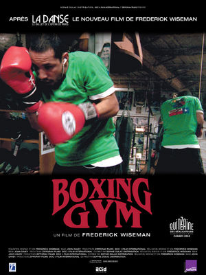 Affiche du film Boxing Gym