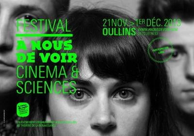 Affiche du festival A nous de voir