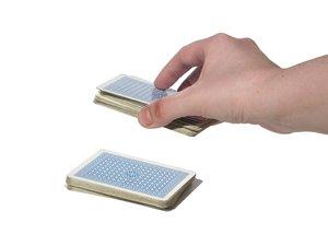 Coupe d'un paquet de cartes