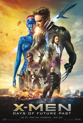 Affiche du film X-Men : days of futur past