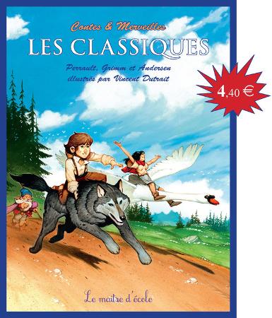 couverture des Classiques, Contes et Merveilles