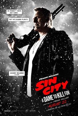 Affiche du film Sin City : j'ai tué pour elle