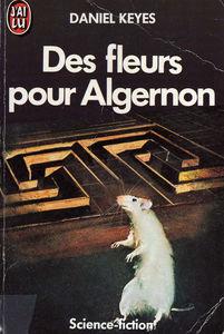 Livre Des fleurs pour Algernon