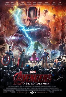 Affiche du film L'ère d'Ultron