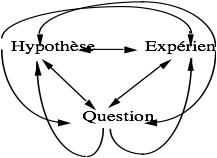 Schéma multiple de la démarche expérimentale