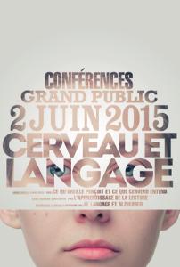 Flyer conférences cerveau et langage