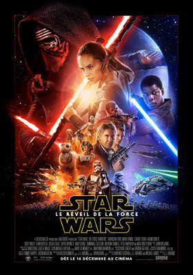 Affiche du film Le réveil de la Force