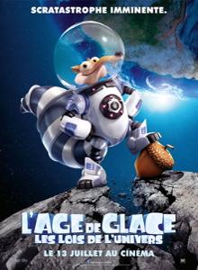 Affiche du film L'âge de glace : les lois de l'univers
