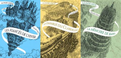 Les trois premiers tomes de la Passe-Miroir