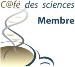 Badge membre du café des sciences